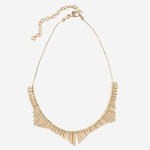 Noonday Collection Gold Tone Scalloped Necklace